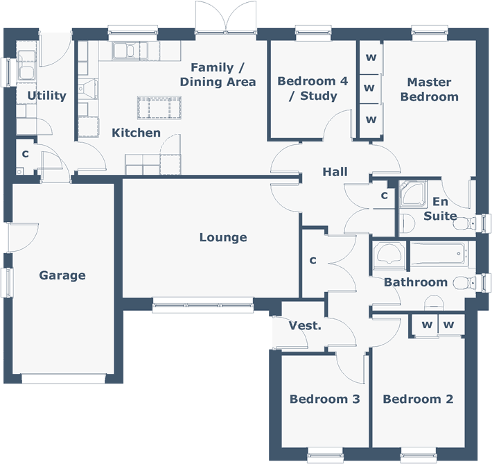 Glen Arklet Floorplan