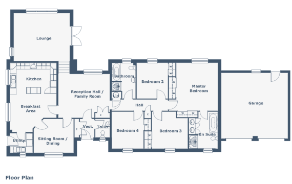 Glen Garry Floorplan