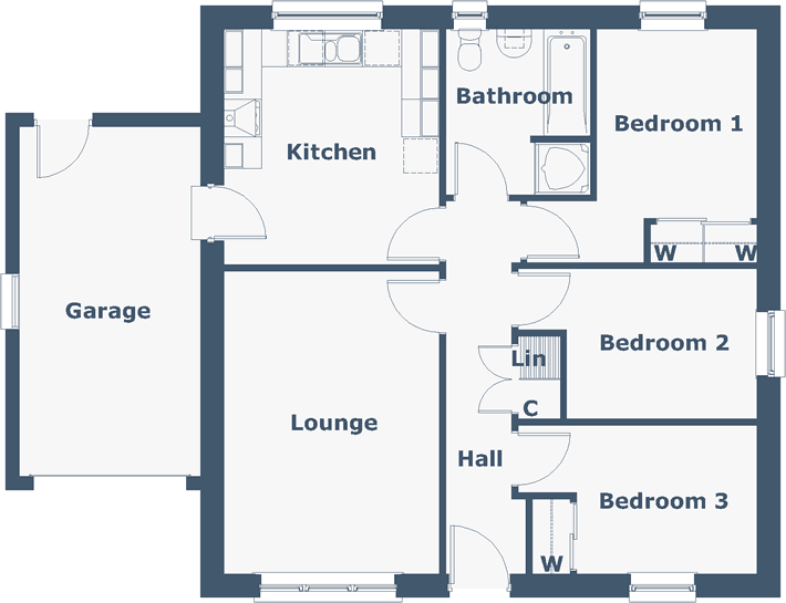 Glen Shira Floorplan
