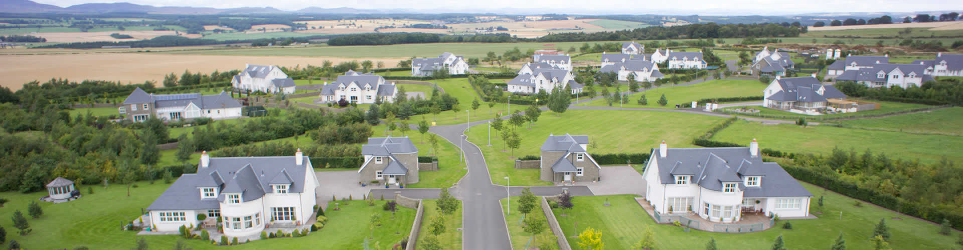Clathymore housing development Perthshire