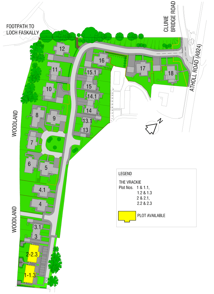 Lagreach Site Layout