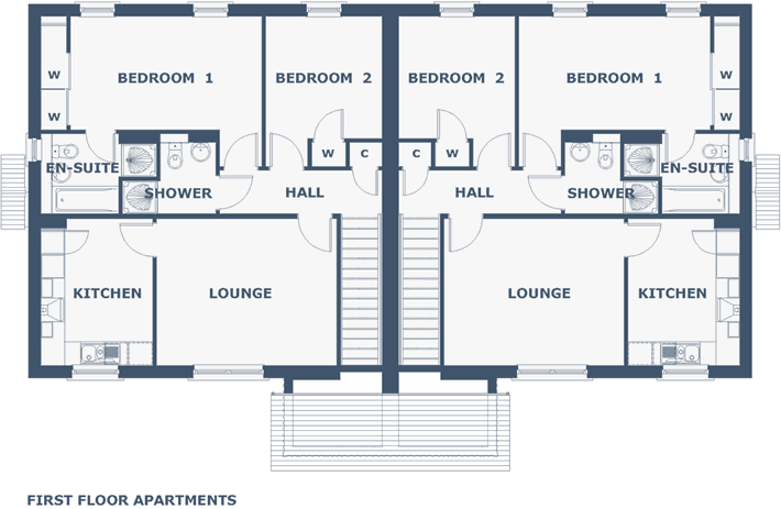 Vrackie (Upper) Floorplan