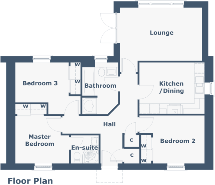 Lismore Floorplan