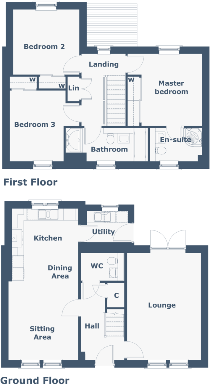 Dunvegan Floorplan