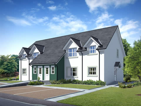 New Apartments at Lagreach, Pitlochry