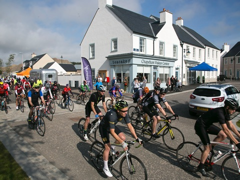 Chapelton Bike Ride Boosts Charity Funds