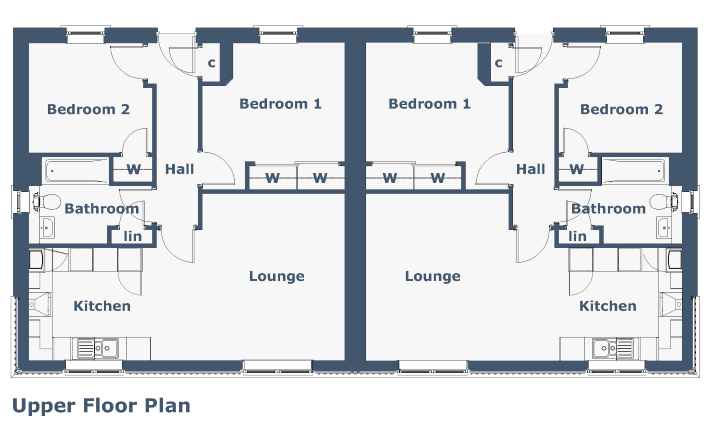 Holly Apartment Floorplan
