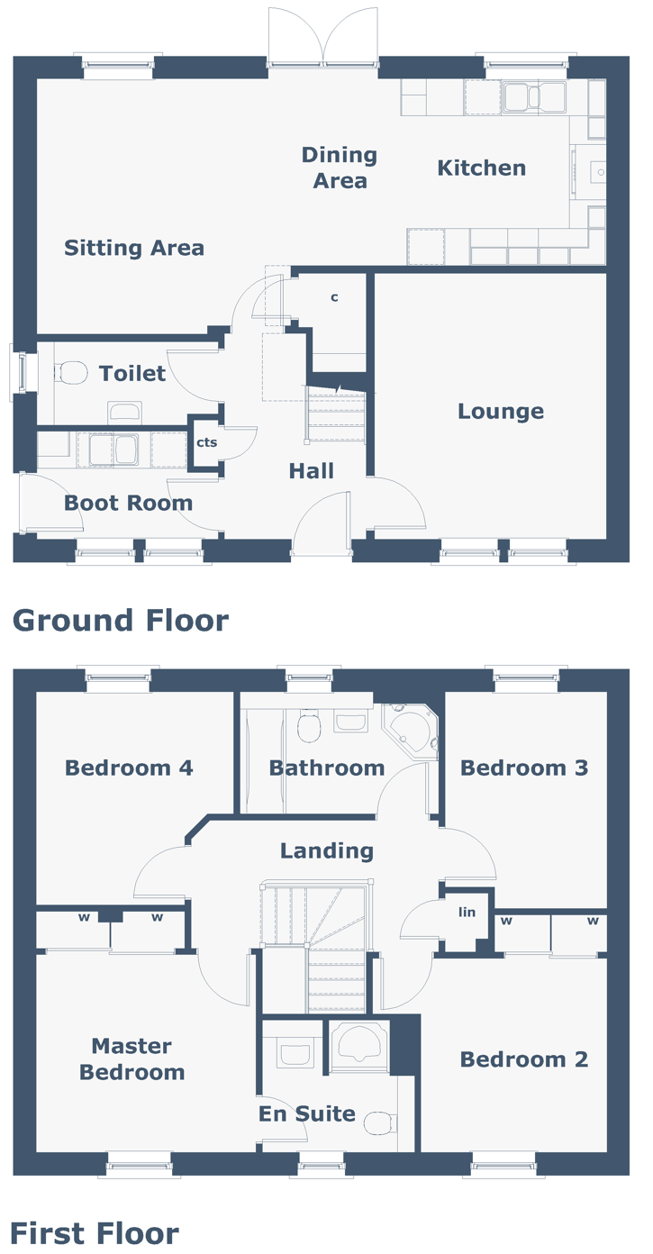 Melfort Floorplan