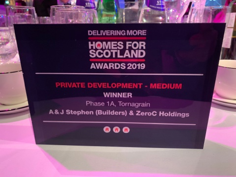 Homes for Scotland Awards 2019. Private Development - Medium - Winner