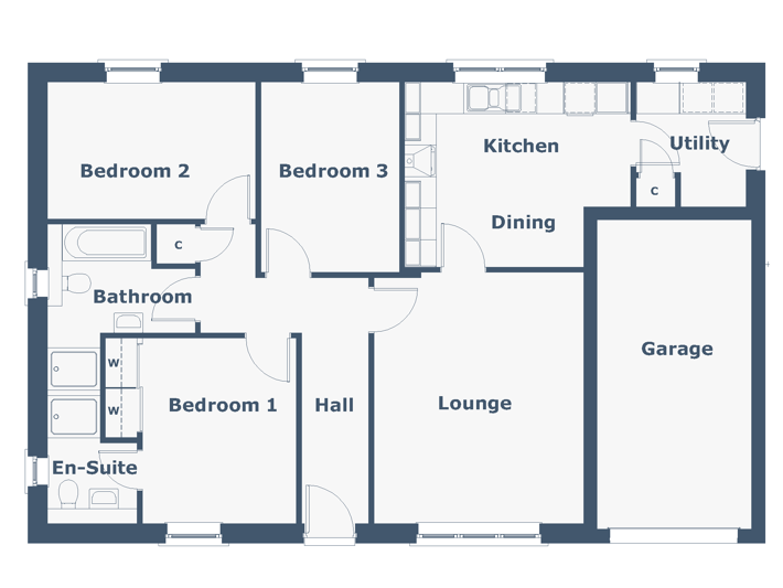Avon Floorplan